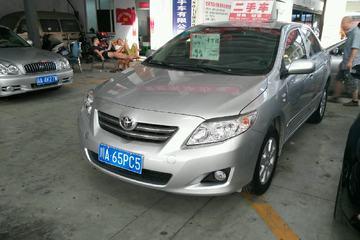 丰田 卡罗拉 2007款 1.6 手动 GL