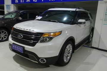 福特 探险者  2011款 3.5 自动 Limited四驱