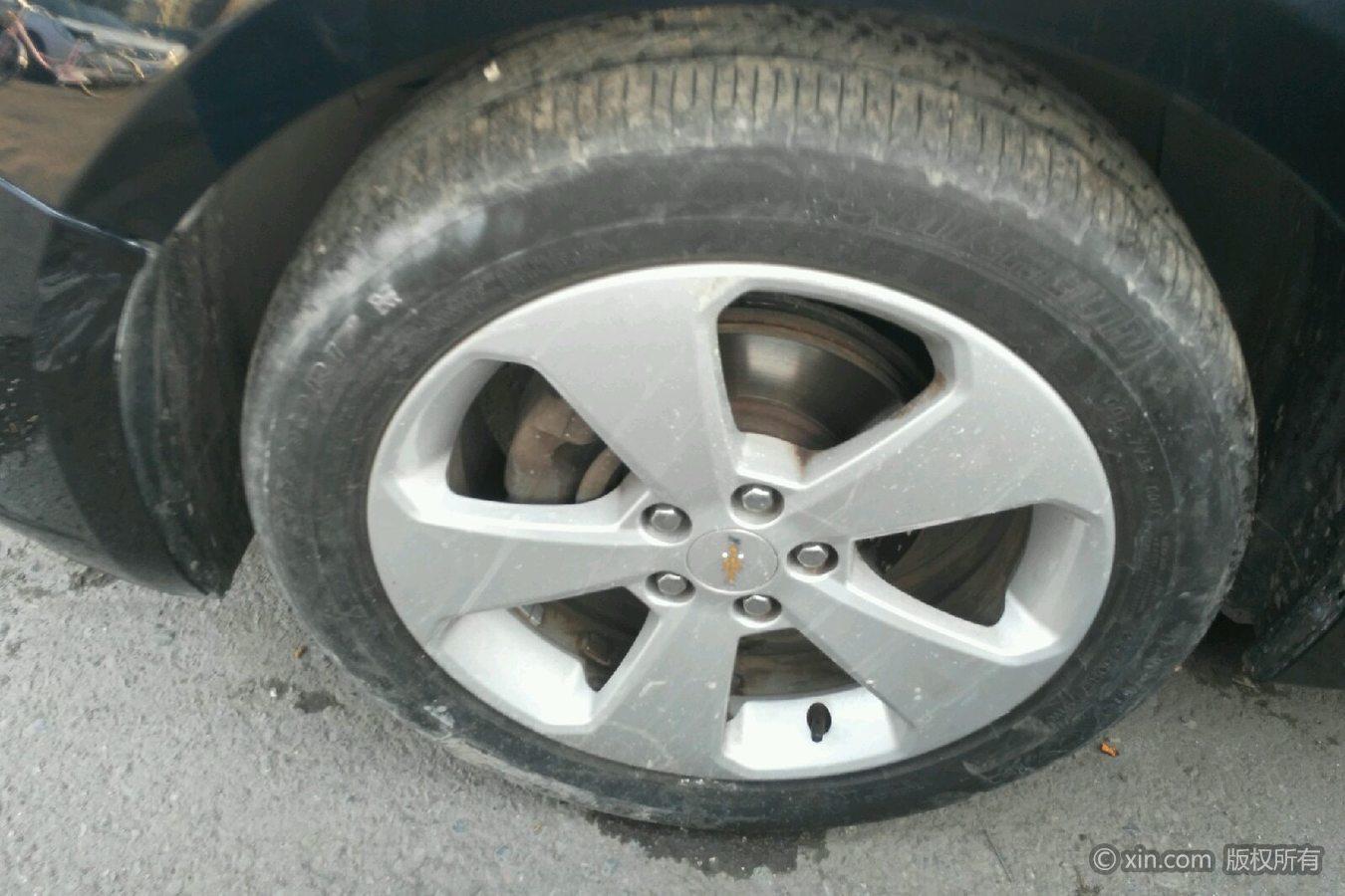 雪佛兰科鲁兹左前轮胎