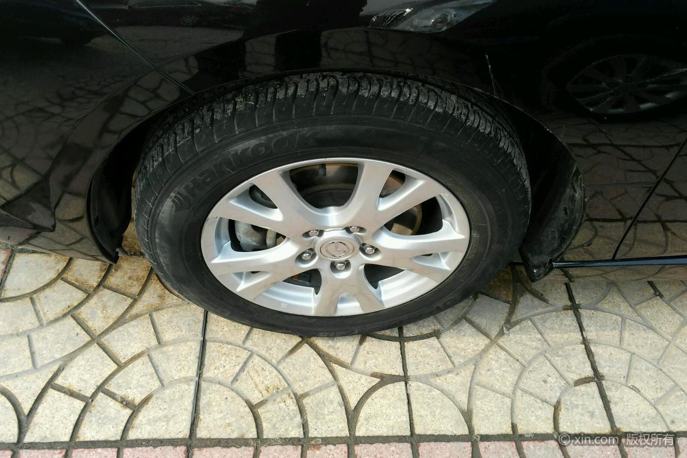 马自达睿翼左前轮胎