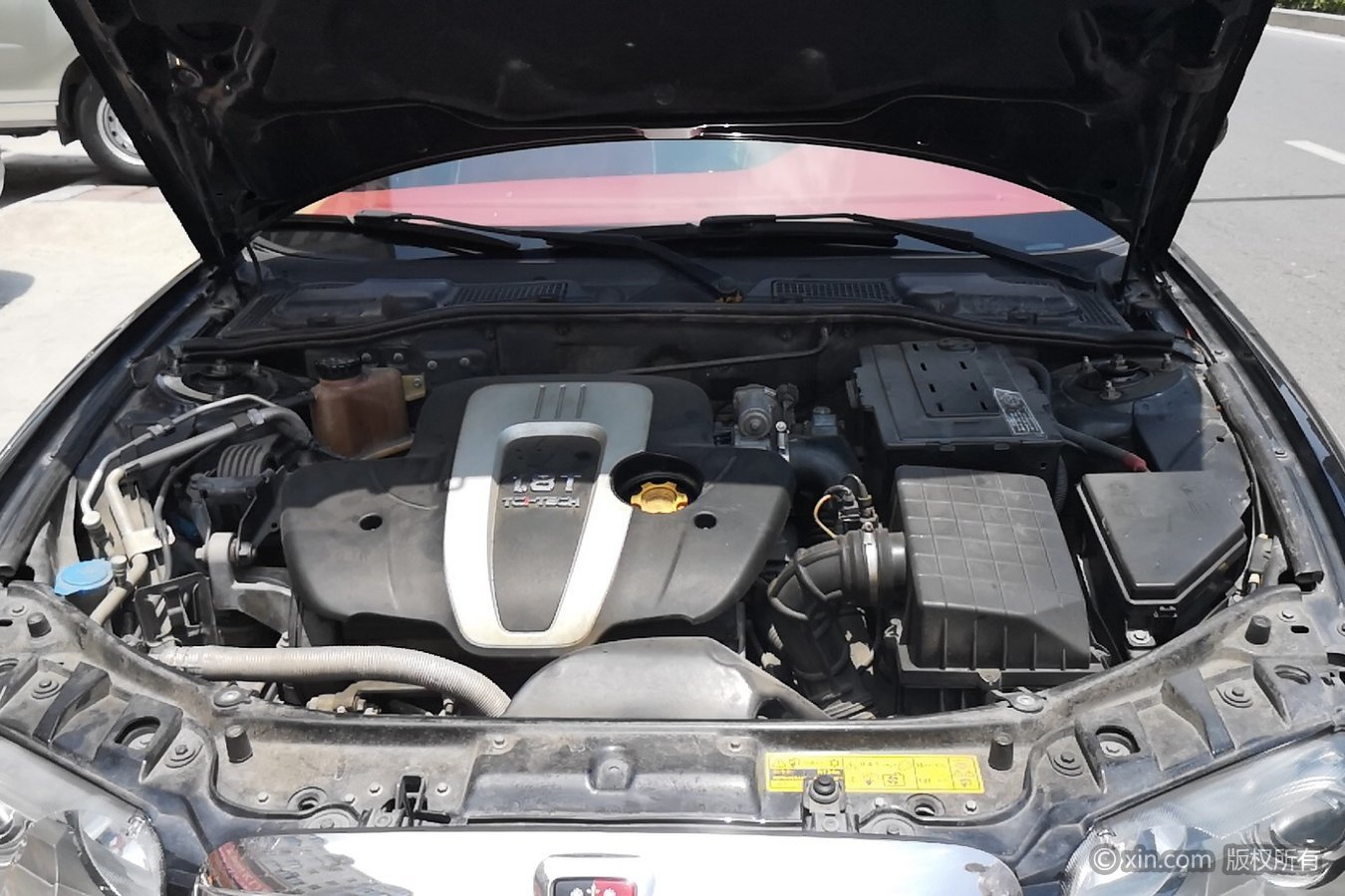 荣威750发动机舱08年奥迪a6二手车价格图片