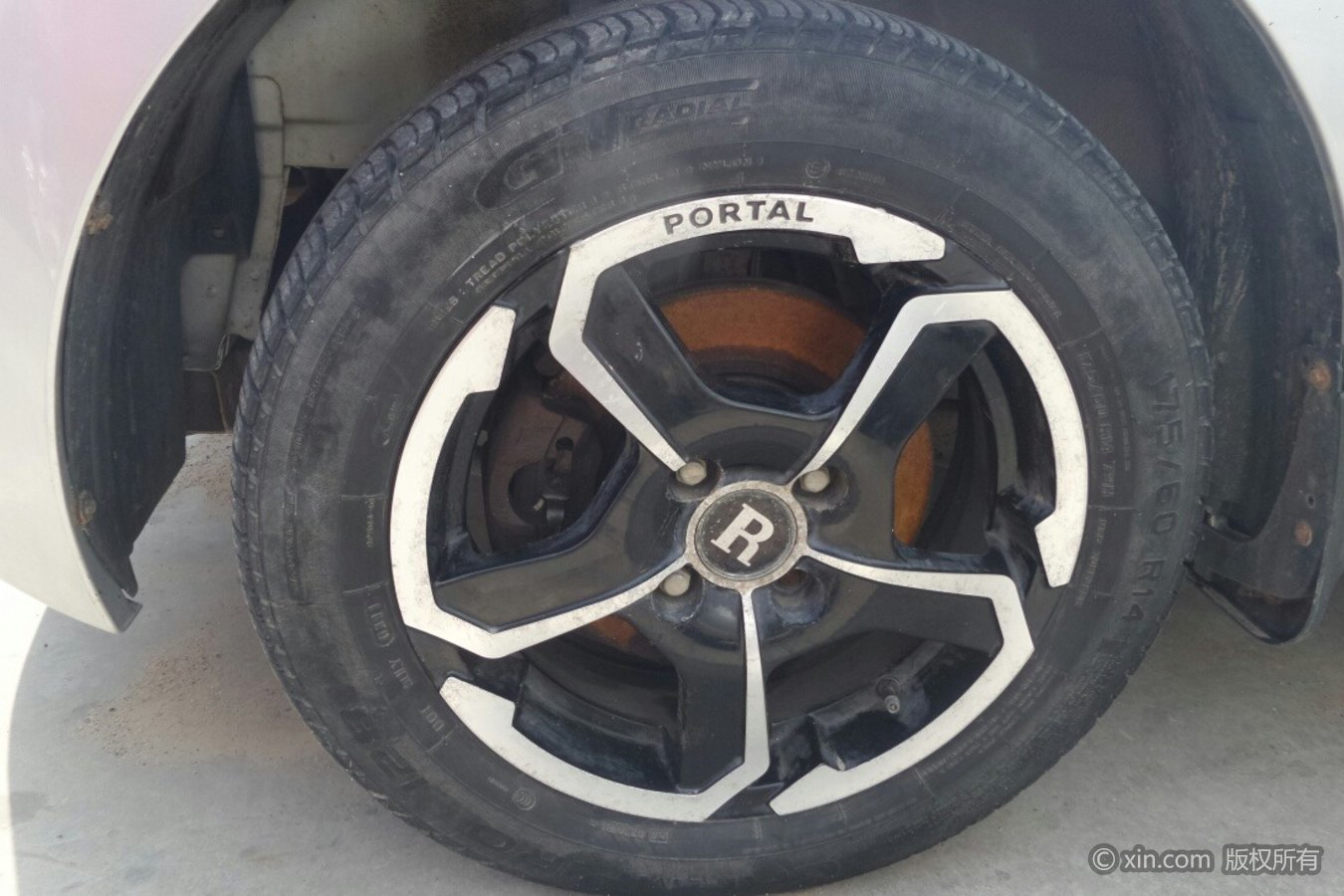 瑞麒M1轮毂