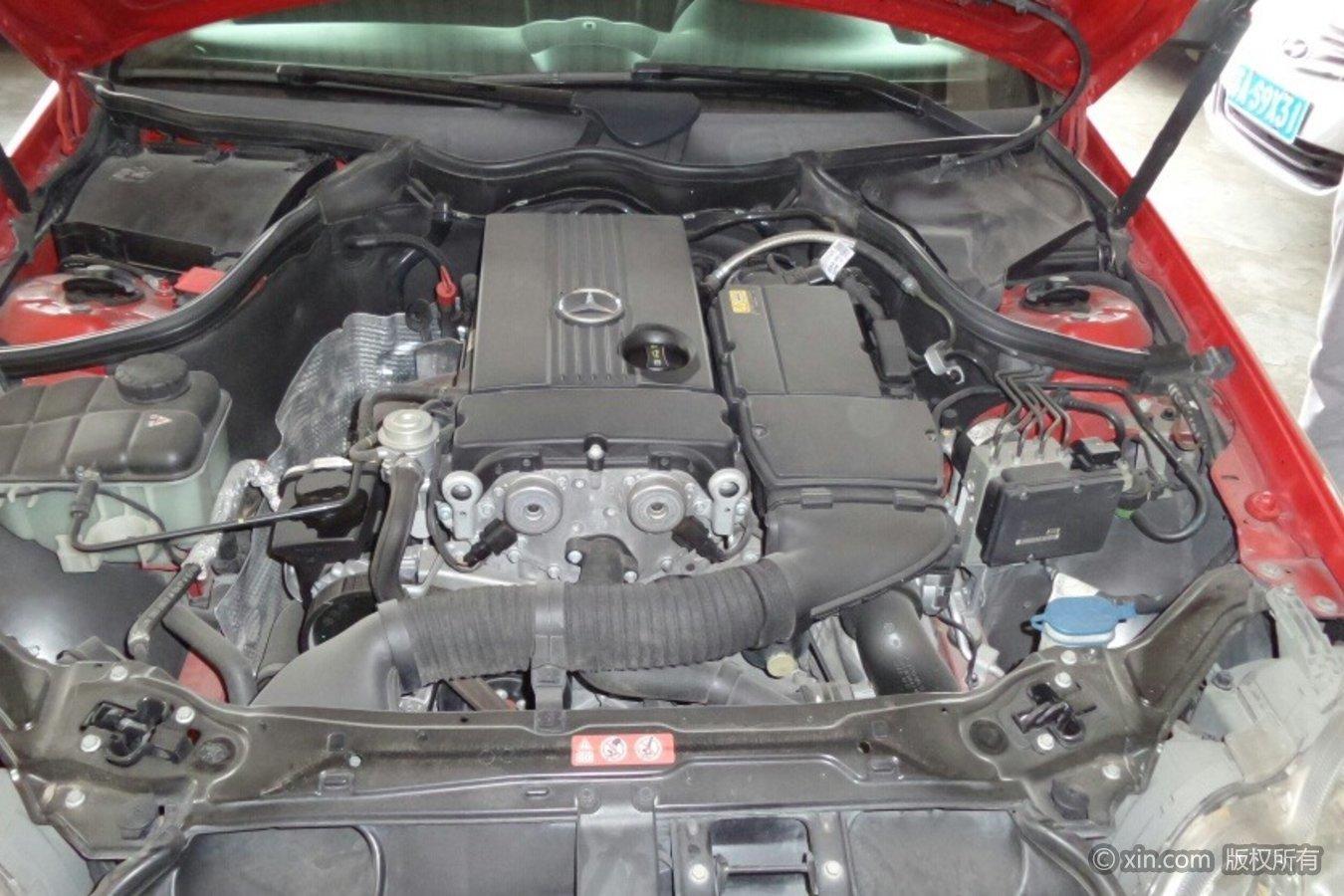 奔驰CLK级发动机